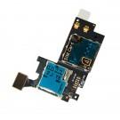 Wholesale Sim Card Memory Card Holder Reader Module Flex Cable Original Samsung Galaxy Note 2 N7100