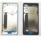 Sony Xperia M4 Front Housing (Silver/Black) OEM