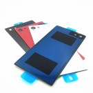 Sony Xperia Z5 Battery Door with Adhesive Sticker - Red - Original - Sony and Xperia Logo