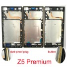 Sony Xperia Z5 premium Front Housing Silver/Gold/Black Original