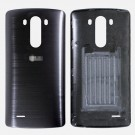 LG G3 D850 D851 D855 Battery Door - Black - With LG Logo Only