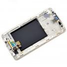LG G3 mini D728 Front Bezel Middle Frame Housing Original White