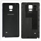Samsung Galaxy Note 4 Battery Door - Black - Samsung and 4G Logo Original