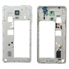 Samsung Galaxy Note 4 Rear Housing -With Ear Speaker Mesh Cover White Original