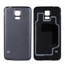 Samsung Galaxy S5 Battery Door (Water-proof Gasket) - Black - With Samsung Logo Only