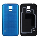 Samsung Galaxy S5 Battery Door (Water-proof Gasket) - Sapphire - With Samsung Logo Only