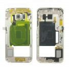 Samsung Galaxy S6 Edge Rear Housing - Gold Original (Without NFC Board)
