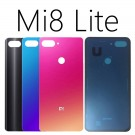 Xiaomi Mi 8 Lite Glass Battery Door (Blue/Red/Black) (OEM)