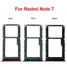 Xiaomi Redmi Note 7 SIM Card Tray (Dual Card Version) (Red/Blue/Black) (Original)