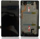 ZTE Nubia Z9 Mini(NX511) LCD Screen and Digitizer Assembly with Front Housing - Black - Full Original
